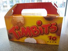 Timbits | 9 Reasons To Love Tim Hortons
