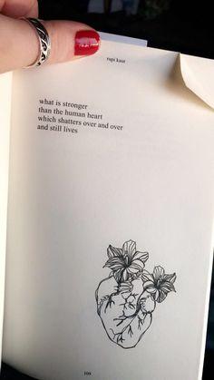 #rupikaur #poem #love #heartbreak #life #kaur #thesunandherflowers