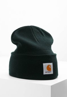 WATCH HAT - Mütze - green. Material Oberstoff 100% Polyacryl ea376d059418