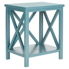 Candice End Table in Blue at Joss & Main