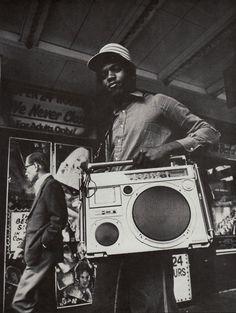 old school hip hop: GHETTO BLASTER