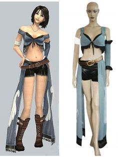 Final Fantasy VIII 8 Rinoa Cosplay Outfits Costumes