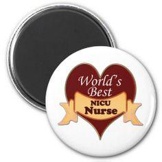 World's Best NICU Nurse Magnets