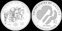 The Girl Scouts USA Centennial Silver Dollar weighs 26.73 grams, is 1.5 inches in diameter, and contains 90 percent silver and 10 percent copper. A surcharge from the sale of each coin is authorized to be paid to Girl Scouts of the USA's national program development and delivery, which helps girls grow into their best selves. This is the first time the United States Mint has produced a commemorative coin dedicated to a girls' organization!