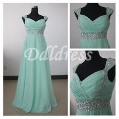 Sweetheart chiffon prom party dress beach bridesmaid by DDLDRESS, $120.00