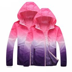 Cheap quick dry jacket, Buy Quality windproof jacket women directly from China windbreaker women sport Suppliers: UMLIFE Couples Windbreaker Jacket Sun-Protective Sport Coat Hooded Quick Dry Windbreaker Men Women Windproof Coat Plus Size Jacket 2017, Vest Jacket, Rain Jacket, Hiking Jacket, Running Jacket, Sweatshirt Outfit, Hooded Cardigan, Hooded Jacket, Raincoats For Women