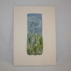 Meadow - Felted and Embroidered Wall Art £20.00