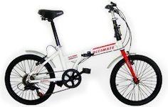 Bicicleta Dobrável Alumínio Ultimate 6v Aro 20 - I have one, green