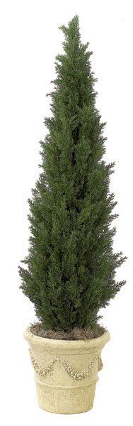 Artificial CHRISTMAS Trees, Artificial Palm Trees, Artificial Plants and Trees - Plastic Cedar Pine Tree