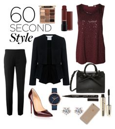 """Untitled #140"" by harmonyleroux on Polyvore featuring Devoted, 10 Crosby Derek Lam, Chloé, Christian Louboutin, Nixon, Smith & Cult, Stila, L'Oréal Paris, Agent 18 and jobinterview"