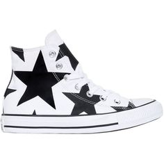 Converse Women Chuck Taylor Star Print Canvas Sneakers (535 RON) ❤ liked on Polyvore featuring shoes, sneakers, star sneakers, star shoes, converse shoes, eyelets shoes and converse footwear