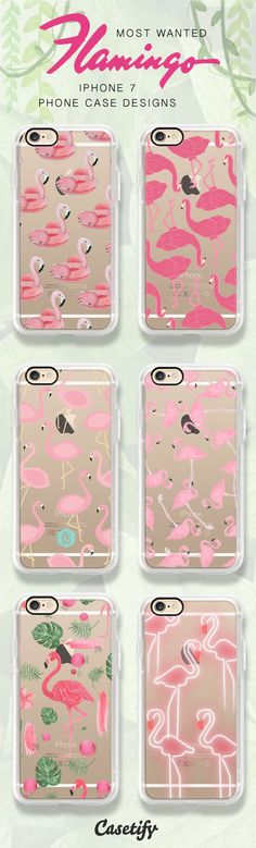Most popular flamingo iPhone 6 and iPhone 7 case designs, shop all of these designs here >>> https://www.casetify.com/artworks/DB9WYgjvnC