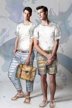 Conor &Robbie Beeser| Dolce & Gabbana |Photographed by Regen Chen |Illustration byBenjamin Edward(tumblr)| Bonbon Magazine Issue #3 [ male models | 1000+ notes | facebook | twitter | google+ | instagram ]