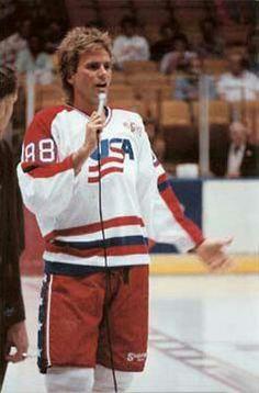 RDA USA Olympic Hockey Team Honorary Captain 1988