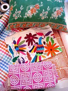 Pattern & color, Otomi print
