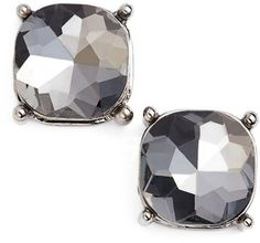 BP. Stone Stud Earrings