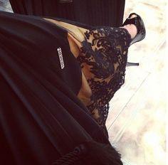love me a designer abaya.