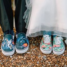 Bring out your inner Star Wars with some comfortable and super cool wedding footwear