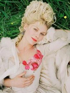 One of my favorite movies and stars, Marie Antoinette