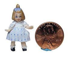 """Pat Boldt - 1 1/4"""" porcelain doll; sold on ebay for $34"""