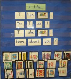 Environmental print. Literacy and Laughter - Celebrating Kindergarten children and the books they love: Favorite Pins Friday