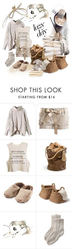 """""""Between Sunrise & Sunset"""" by alevalepra ❤ liked on Polyvore featuring AK47, Isotoner, Toast and LazyDay"""