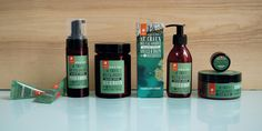 Agence Cécile Halley des Fontaines - Global design agency - Nature et Découvertes - Baignade Sauvage - wild bath packaging - natural cosmetics essential oils - body soaps, body creams