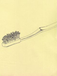 Natalya Lobanova. That's a perfect rendering of what an old toothbrush feels like.