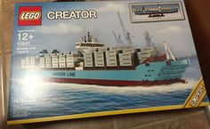 Manual Book 2019 HOT Custam Creator Maersk Line Triple-E Lego Compitible 10241