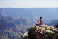View top-quality stock photos of Rear View Of Woman In Grand Canyon Against Sky. Find premium, high-resolution stock photography at Getty Images. Adventure Travel Companies, Group Travel, Tour Operator, Greatest Adventure, Rear View, Central America, Vacation Trips, Grand Canyon, Tours