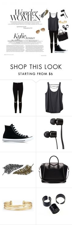 """""""Untitled #127"""" by electraz on Polyvore featuring Miss Selfridge, Kavu, Converse, Vans, Paperself, Givenchy, Stella & Dot and Ray-Ban"""