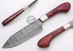 "10.50"" Custom Made Beautiful Damascus steel chef kitchen Knife (859-1)"