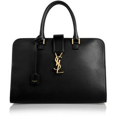 Monogramme Cabas large leather tote (23 045 SEK) ❤ liked on Polyvore