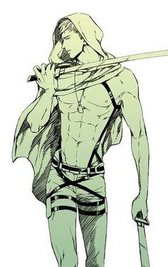 Jean Kirstein, Shingeki no Kyojin, Attack on Titan, Sexy *__* Jeaaaaaan! *-----*