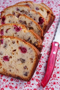 White Chocolate Cranberry Bread @Patty Price / Patty's Food - Perfect for Buffets, PotLucks & Gift Giving