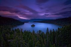 Emerald Bay, one of the most photographed spots in the world.
