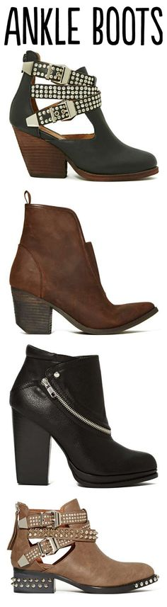 So many boots! Click through to see an amazing selection of Ankle Boots and many more styles!
