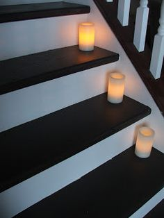 This makeover cost under 100 bucks! Now the treads and the risers look brand new. #cleverlyinspired #staircase_runner #staircase_diy #staircase_makeover #staircase_remodel #houselogic #foyer_makeover #staircase_ideas #foyer_ideas