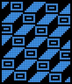 "Photo from album ""Филейные схемы"" on Yandex. Tapestry Crochet Patterns, Bead Loom Patterns, Perler Patterns, Beading Patterns, Potholder Patterns, Filet Crochet, Crochet Chart, Crochet Stitches, Cross Stitch Charts"
