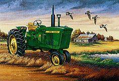 John Deere Tractor Prints by Schaefer
