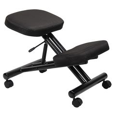 Steel Frame Kneeling Chair, Ergonomic