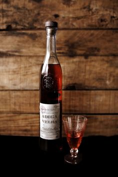 Aguardente velha (brandy). Winter #portuguese drink...