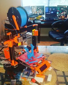 Something we liked from Instagram! My new toy is now fully assembled and calibrated  #hobby #3Dprinter #DIY #maker #cad #design #3dprinted #makersgonnamake #3D #3dprint #solidworks #autodesk #prusai3 by rampage_muamba check us out: http://bit.ly/1KyLetq
