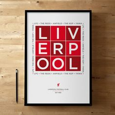 Liverpool FC, Football / Soccer Posters and Prints $48.24