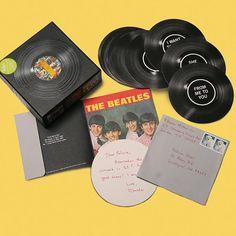 Beatles #1 Singles Note Cards at Bas Bleu | UJ9032