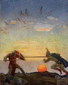 La Imaginación Dibujada: N.C. Wyeth
