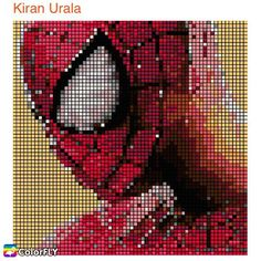 Feature of the Day An #amazing #spiderman #pixelart from our artist  ----------------- Let more people see your masterpiece   Tag/DM me or #colorfly #colorflyapp #colorflyart to spread your art. ----------------- #freeapp #coloringapp #adultcoloringapp #coloring #coloringbook #coloringbookforadults #coloringbooks #coloringpages#coloringtime #adultcoloring #stressfree #stressrelief #colorfy #colorfyapp #picoftheday #recolor #fun #colortherapyapp #art #love #塗り絵 #ぬりえ #painting