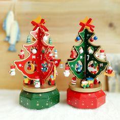 24 cm Caixa Caixa de Música de Rotação Da Árvore De Natal do Presente Do Ano Novo Presente de Natal para o Amigo da Criança de Alta Qualidade Adornos Navidad atacado-Caixas de música-ID do produto:60559115368-portuguese.alibaba.com