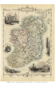 14 Best Ireland Old Maps images