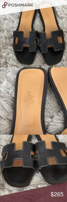 Hermès women shoes Pre owned condition. 100%authentic. Pls see the pictures hermes Shoes Sandals